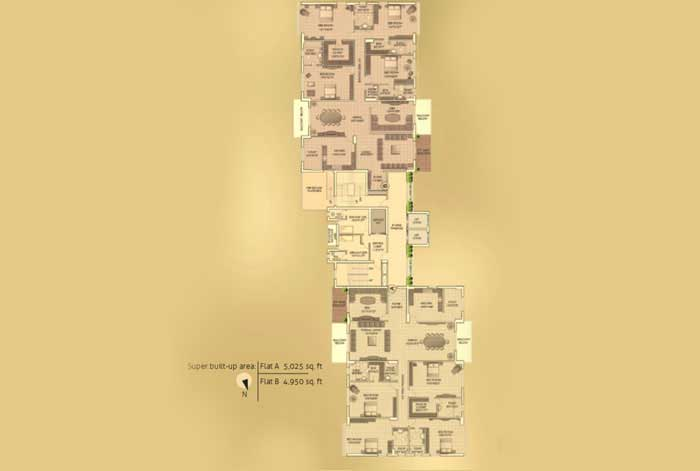 Southcity real estate projects in kolkata residential for 14th floor records address